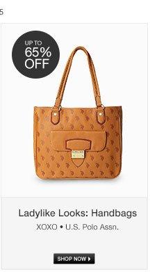 Ladylike Looks: Handbags