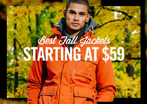 Shop Best Fall Jackets Starting at $59