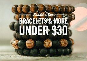 Shop Brand New Bracelets & More Under $30