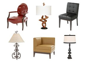 Rich & Refined: Furniture & Lighting