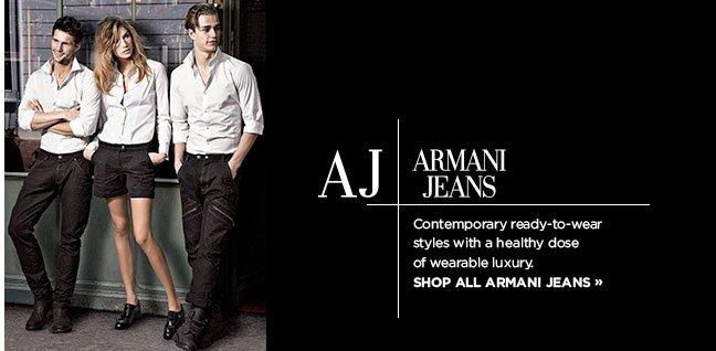 Shop Armani Jeans