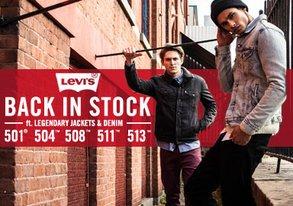 Shop Back in Stock: Levi's Denim & More