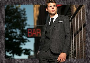 Shop Dress to Impress: Herringbone Suits