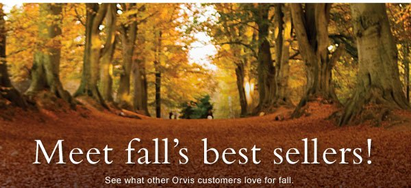 Meet fall's best sellers! See what other Orvis customers love for fall. Shop Top-Rated collections for: