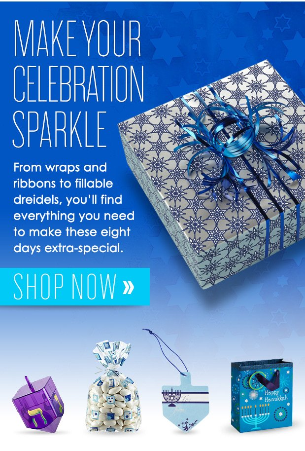 MAKE YOUR CELEBRATION  SPARKLE