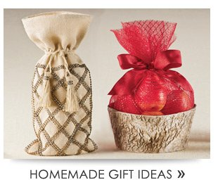 HOMEMADE GIFT  IDEAS»