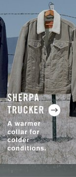 Sherpa Trucker - A warmer collar for colder conditions.