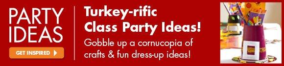 turkey-rific Class Party Ideas!