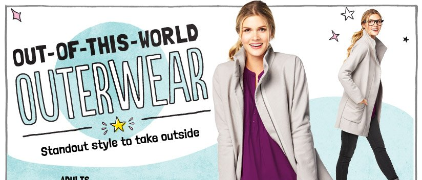 OUT-OF-THIS-WORLD OUTERWEAR | Standout style to take outside