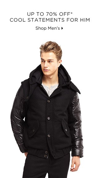Up To 70% Off* Cool Statements For Him
