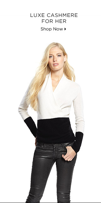 Luxe Cashmere For Her