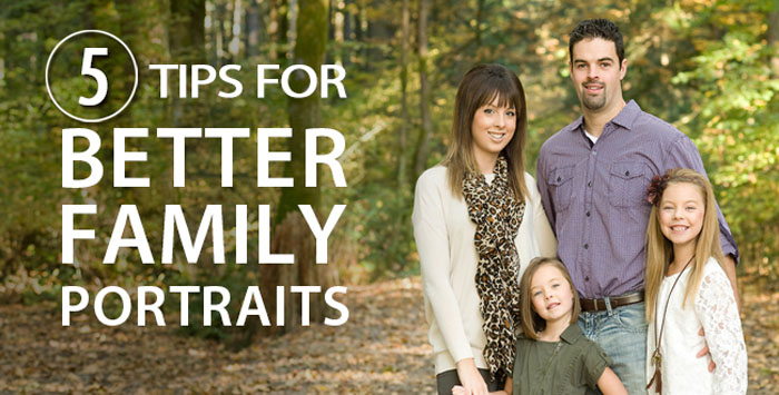 Adorama - 5 Tips for better family portraits
