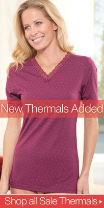 New Thermals Added - Shop All Sale Thermals
