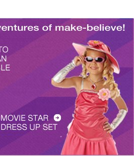 Movie Star Dress Up Set