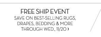 FREE SHIP EVENT
