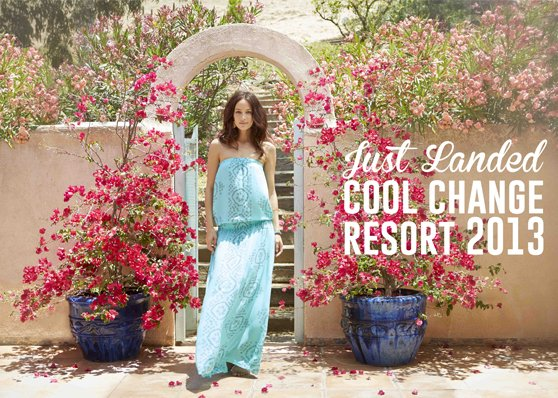 Look chic on the beach in gorgeous Cool Change beachwear