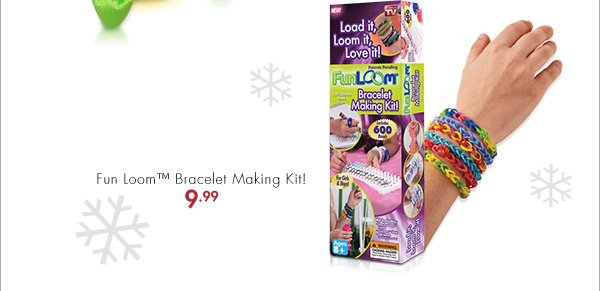 Fun Loom™ Bracelet Making Kit 9.99