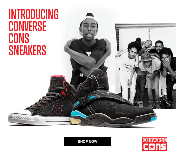 INTRODUCING CONVERSE CONS SNEAKERS