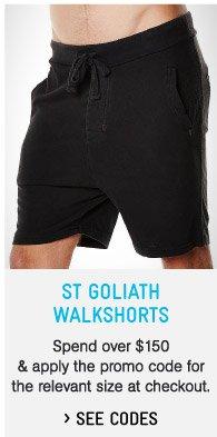 St Goliath Shorts