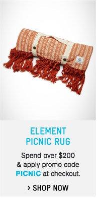 Element Picnic Rug