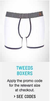 Tweeds Boxers