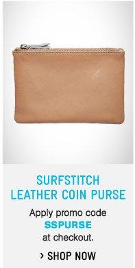 SurfStitch Coin Purse
