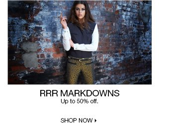 Up to 50% Off RRR