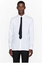 KRISVANASSCHE White black tie print shirt for men