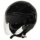 Xelement ST-559 Black Open Face Helmet