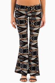 Aztec Flare Bottom Pants 33