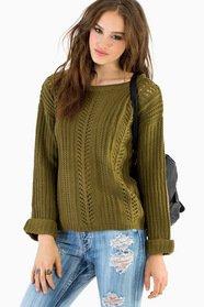 Alice Crochet Sweater 36