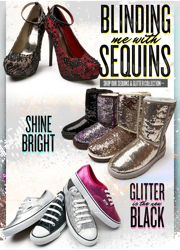 Blinding Me with Sequins & Glitter
