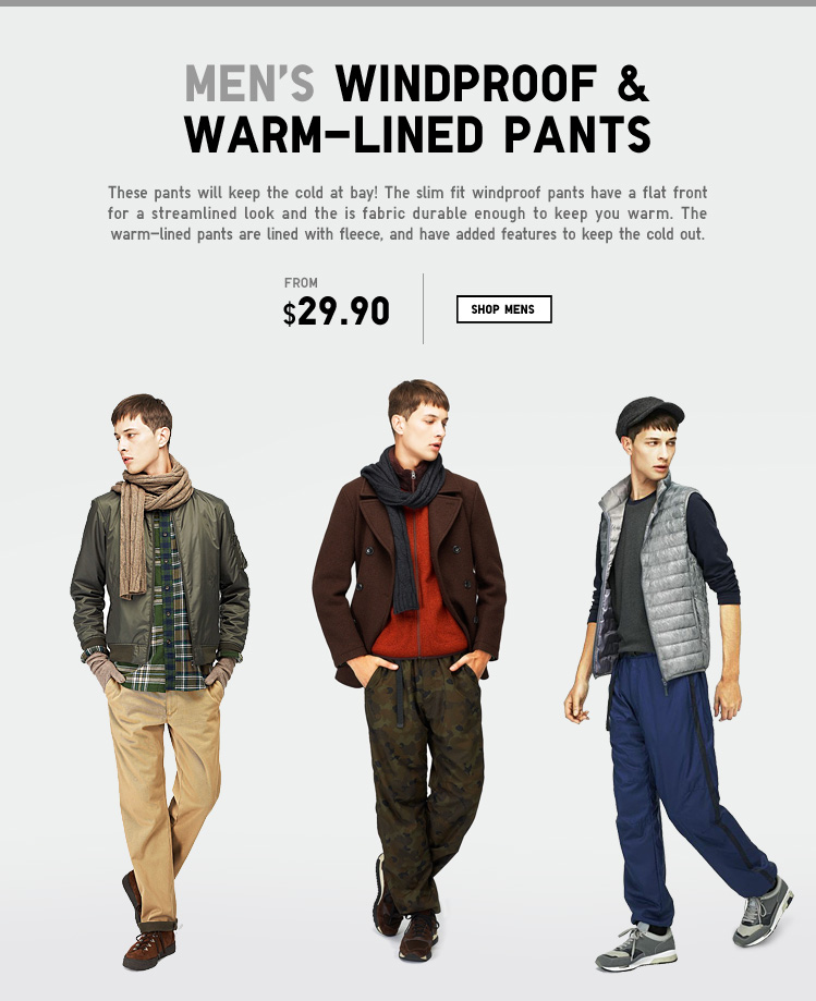 Warm Lined Bottoms