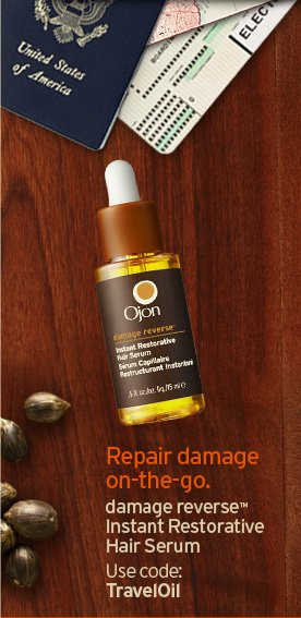 Repair damage on the go damage reverse Instant Restorative Hair  Serum Use code TRAVELOIL