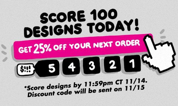 Score Designs