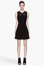 RAG & BONE Black laced-up Lillian Dress for women