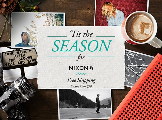 Nixon | Holiday Gift Guide
