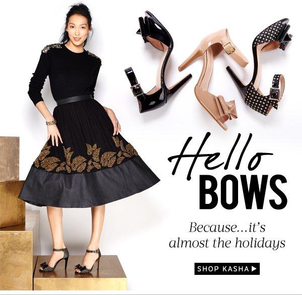 Hello Bows: Shop Kasha