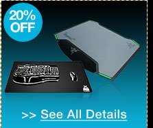 20% off all mouse & accessories!*