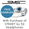 SMS Audio - With Purchase Of STREET By 50 Headphones.