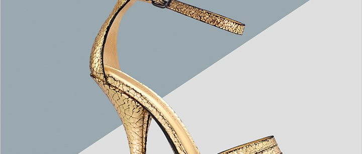It's not a celebration without something shiny: Shop metallic accessories and more now.