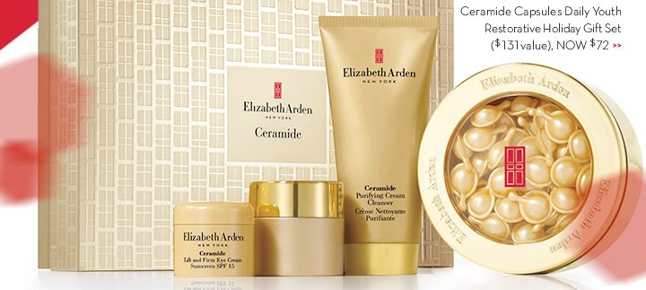 Ceramide Capsules Daily Youth Restorative Holiday Gift Set ($131 value). NOW $72