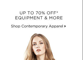 Up To 70% Off* Equipment & More