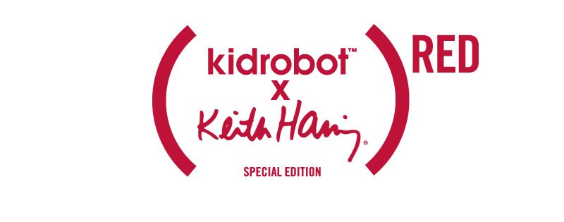 (RED) kidrobot x Keith Haring SPECIAL EDITION
