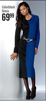 Colorblock Dress $69.99