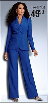 Tuxedo Pantsuit It's a REAL STEAL $49.99