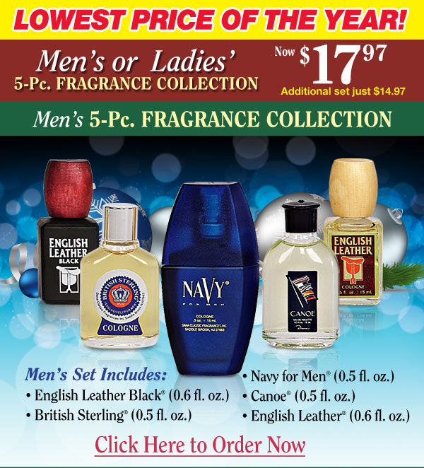 Men's Fragrance Collection