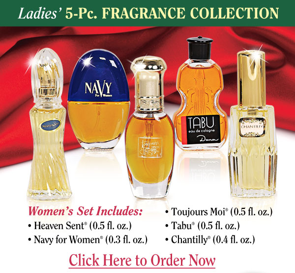 Ladies' Fragrance Collection