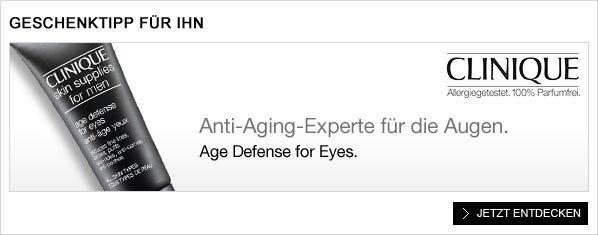 Geschenk-Tipp für Ihn: Age Defense for Eyes