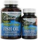 Super Omega-3 Gems Fish Oil Concentrate 1000 mg. - Bonus Pack 100 + 30 Softgels